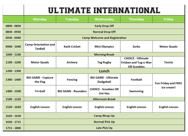 Ultimate International