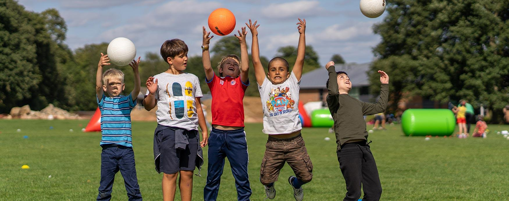 Summer holiday camps for children