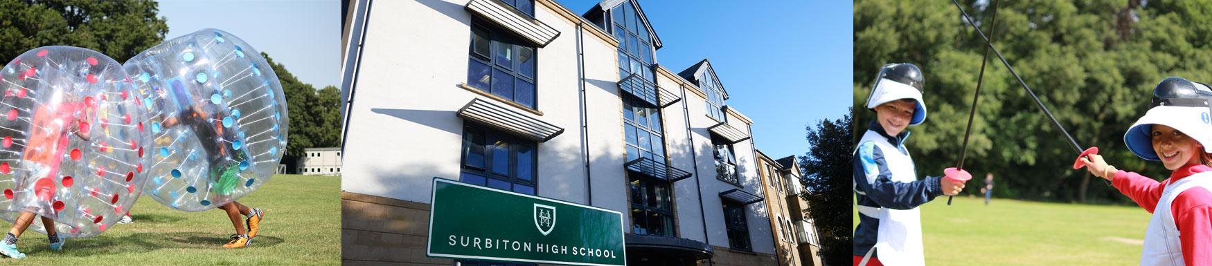 School holiday camp activities for all ages from 4-11 year olds at Surbiton High Prep, Surbiton